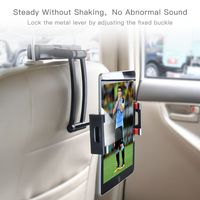 Universal Car Headrest Tablet Holder Backseat Tablet Mount Support for iPad iPhone Cellphones PC Laptops with 5Inch and Above|Tablet Stands| |  -