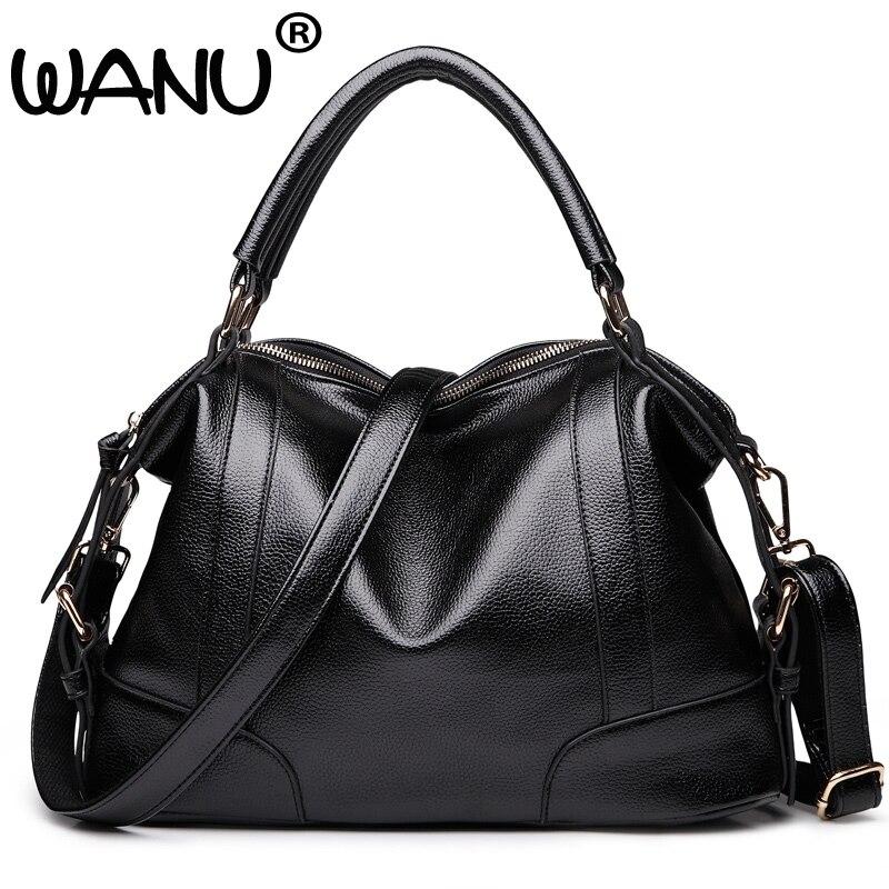 2017 New Fashion Soft PU Leather Tassel Women's Handbag Ladies Shoulder Bags Tote Messenger Bag Purse Large Capacity