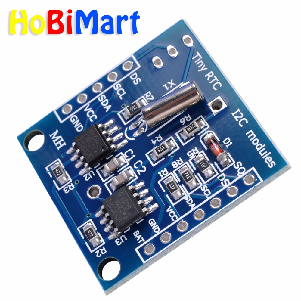 I2C RTC DS1307 AT24C32 Real Time Clock Module 51 AVR ARM PIC FOR arduino 100X J150