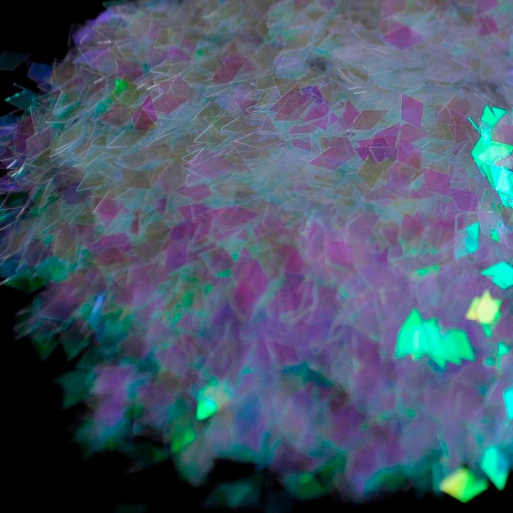 11 colors glitter powder, for Nail Art, Body Art, Rhombus Diamond shape 2mm