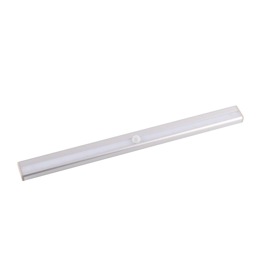 Image 2 - USB Rechargeable Wireless Motion IR Auto Sensor Emergency Night Lights White 20 LEDs Bar Closet Wall Light With Magnetic Stripnight lightemergency night lightlight night -