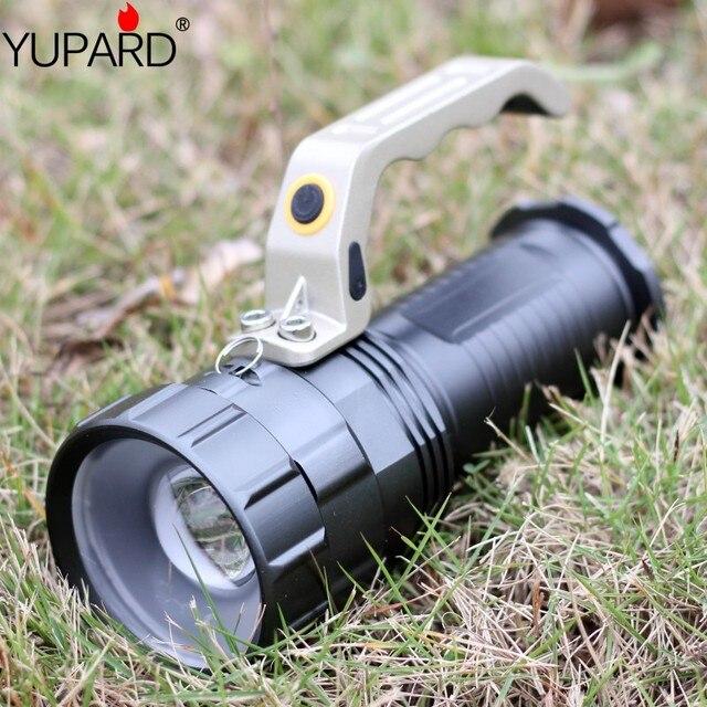 YUPARD XM-L2 светодиодный T6 масштабируемый фонарик прожектор сверхъяркий фонарик для 18650 аккумуляторной батареи Бесплатная доставка