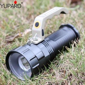 Yupard XM-L2 LED T6 Масштабируемые фонарик прожектор факел супер яркий для 18650 аккумуляторная батарея Бесплатная доставка