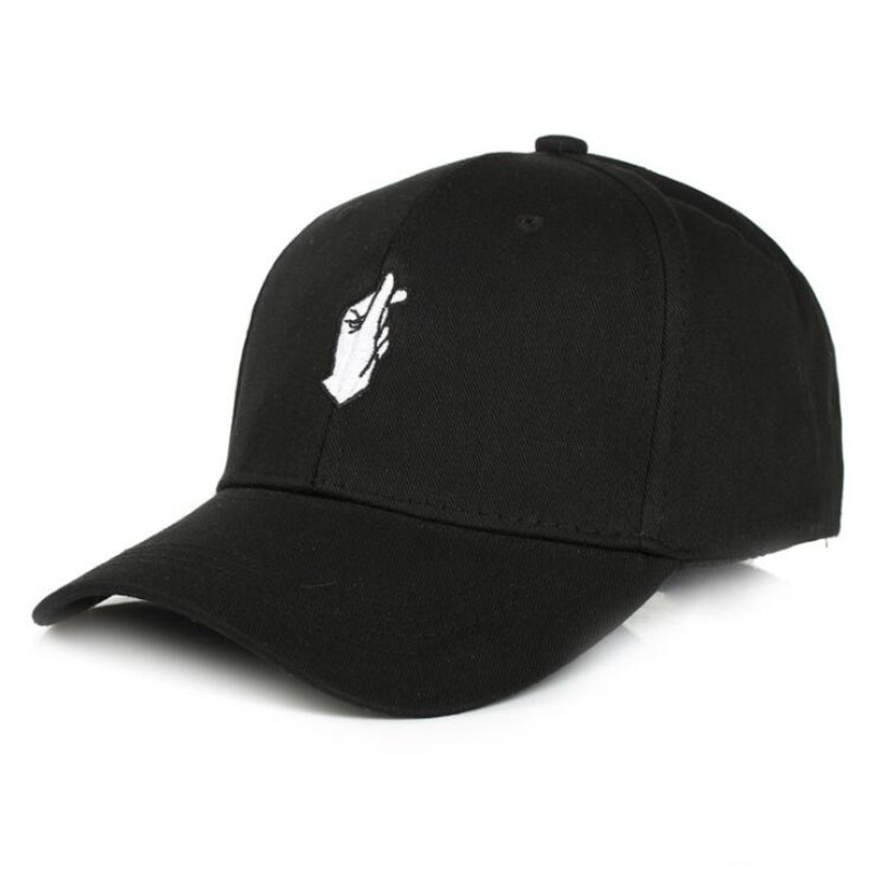 Seioum Fashion Cotton Hand Rose OK Love Gestures Finger Snapback Hats Caps Baseball Caps For Men Women Adjustable Adult Cap