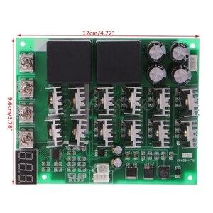 Image 4 - Controlador de velocidad del Motor, DC 10 55V 12V 24V 36V 48V 55V 100A PWM HHO RC interruptor de Control inverso con pantalla LED