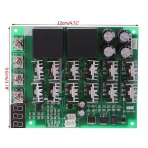 Image 4 - DC 10 55V 12V 24V 36V 48V 55V 100A Motor Speed Controller PWM HHO RC Reverse Control Switch With LED Display