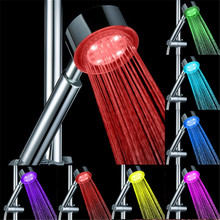 Hydropower Bathroom 7 Color gradually fading mineral shower head without color box