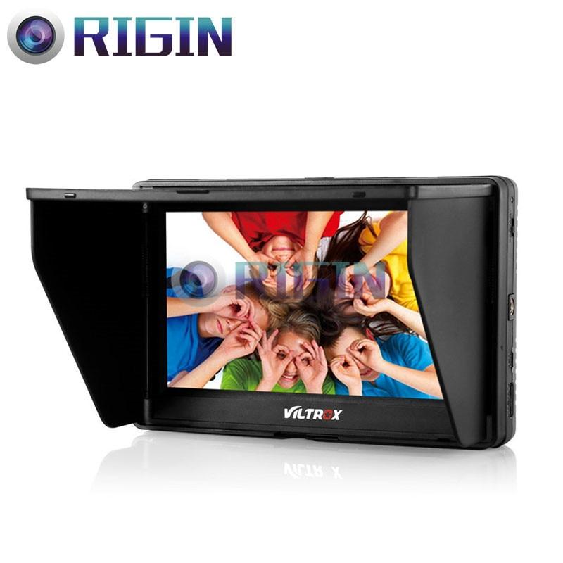 Original VILTROX DC-70 II 7 HD 1024x600 Clip-on LCD Monitor HDMI AV Input for DSLR Sony Canon Camera Monitor