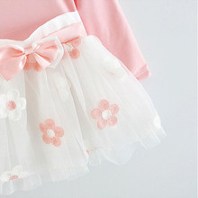 Long Sleeve Baby Girls Dress For Girl Wear Daily Clothes