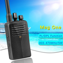 Portable Walkie Talkie Mag One Q5 16CH UHF 403-470MHz Handy Ham Radio Hf Transceiver Two Way Radio Comunicador