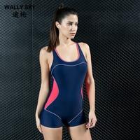 Women One Piece Swimwear Backless Competitive Sports Monokini Swimsuit Body Suit Athlete Sports Woman Beach Suit
