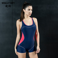 Women One Piece Swimwear Backless Competitive Sports Monokini Swimsuit Body Suit Athlete Sports Woman Beach Suit