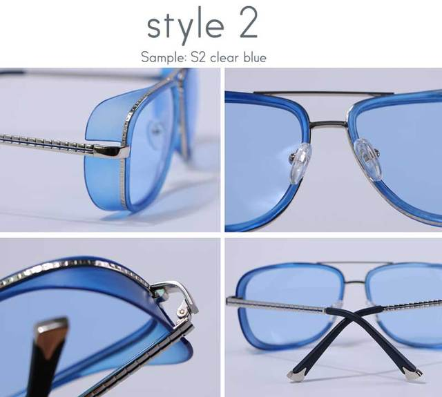 Steampunk Sunglasses Retro Vintage Eyewear