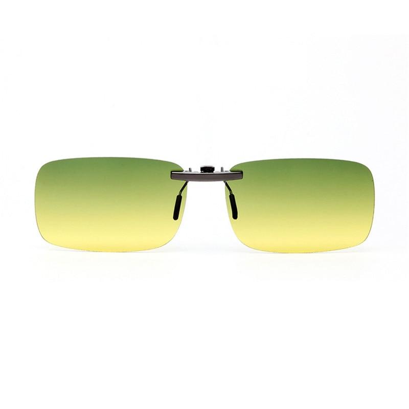 Vazrobe alumium клип на солнцезащитные очки линзы высокое качество случае Бесплатная зеркало, тонированные съемный линзы двойной для водитель бли...