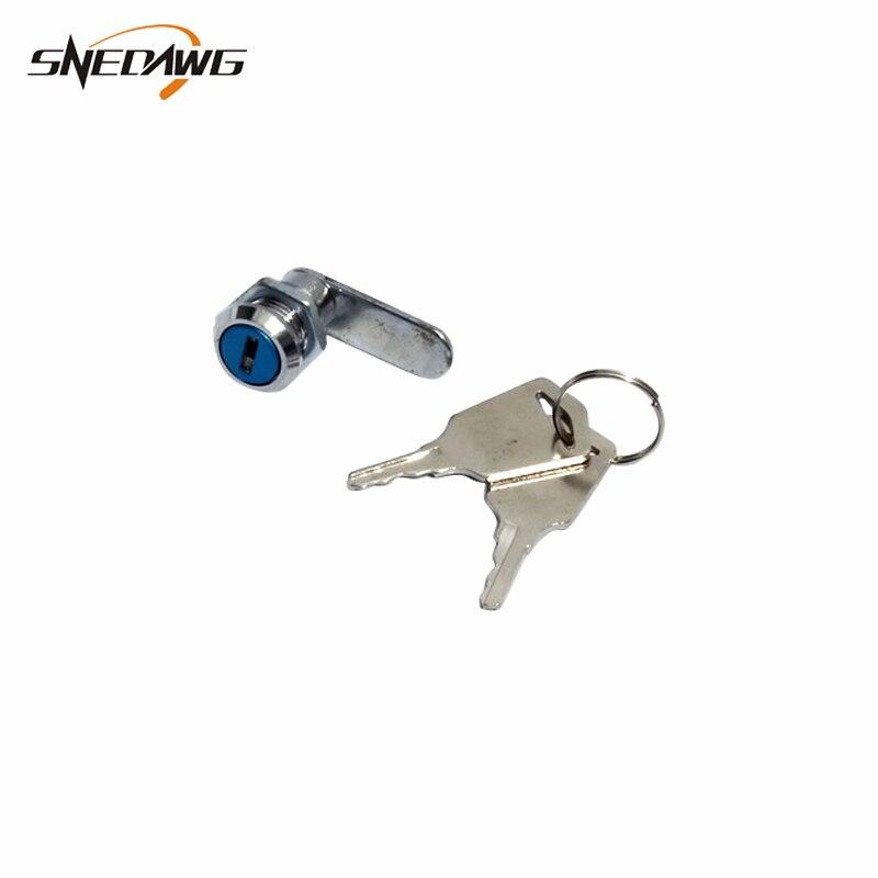 MS202 Mini Cam Lock Zinc Alloy Safety Mailbox Cam Lock Equipment Steel Cabinet Lock For Industrial Distribution Box