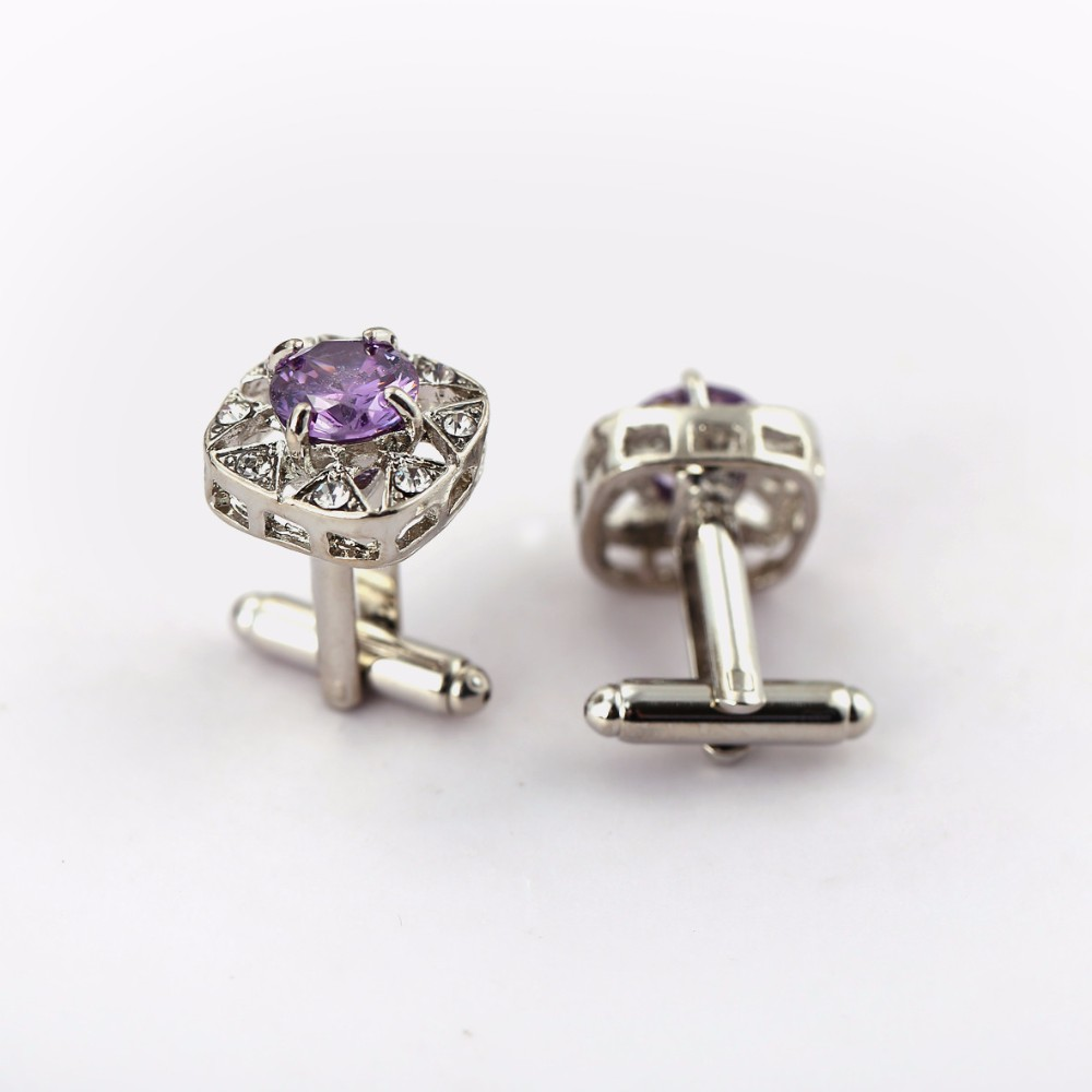Mengtuyi Jewelry Gifts Cufflinks Gems Stone Exquisite Cuff
