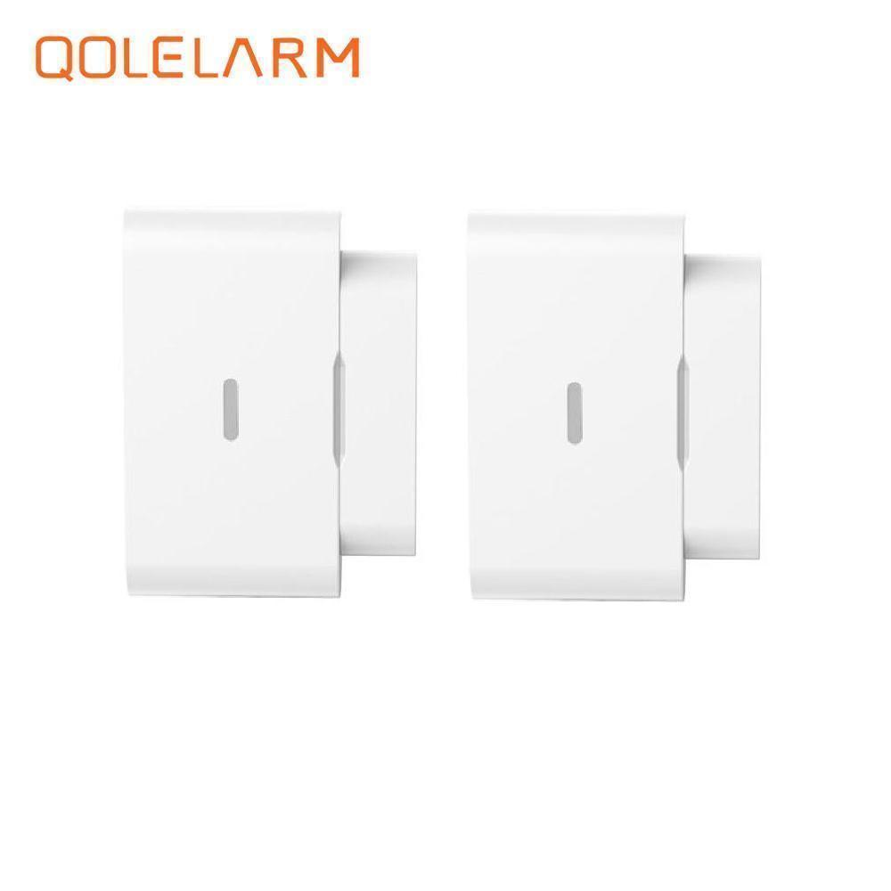 QOLELARM New arrival smart GSM 433MHz wireless alarm system magnetic automatic door/window detector for home alarm system maryam ahmed automatic taxi trip sensing and indicating system though gsm