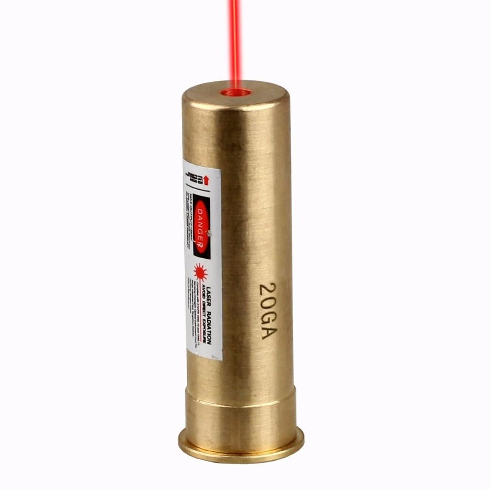 VERY100 CAL 20 Gauge Cartridge Red Laser Bore Sighter 20GA Boresight