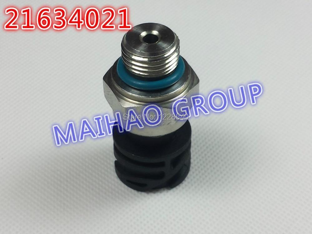 10pcs Lot Free Shipping Oil Pressure Sensor 21634021 for Volvo Truck Pressure Sensor High Quality