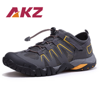 AKZ Man Spring Summer Loafers Air Mesh casual shoes For Men Breathable Comfortable Climbing shoes Outdoor hiking shoes