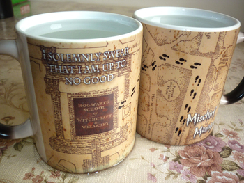 Light Magic - mischief managed mug Color Changing Cup,I Solemnly Swear That I Am Up To No Good Coffee mugs for friend gift Кубок