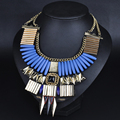 HOUDA N00564 2017 Summer choker Necklace Statement Statement necklaces& Pendants Trend Fashion Jewelry Chunky Women Jewelry