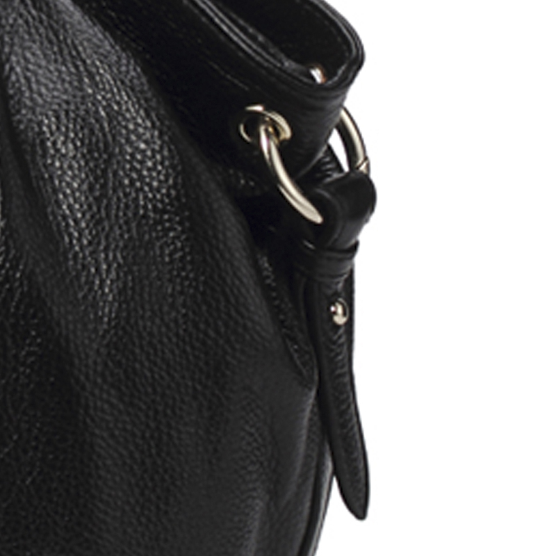 qiwang hobo bolsa de couro Material : Top Quality Pretty Pebbled Genuine Leather