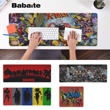 Babaite Top Quality Marvel X-Men Gaming Player desk laptop Rubber Mouse Mat Free Shipping Large Pad Keyboards