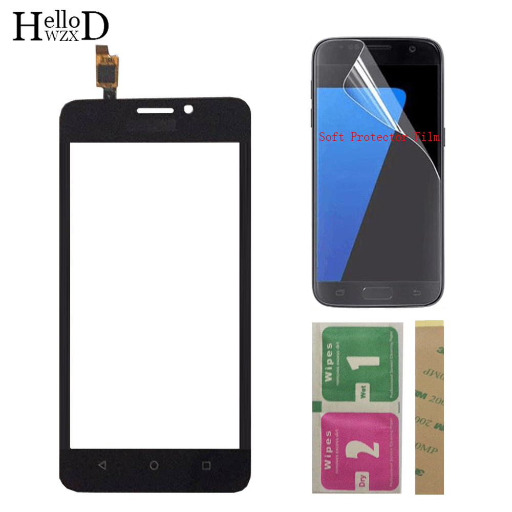 Mobile Touch Screen For Huawei Y635 Y635-CL00 Y635-TL00 Y635-L01 Touch Glass Front Digitizer Panel Lens Sensor + Protector Film