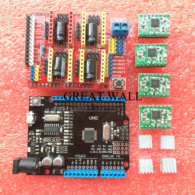 Expansion Board for Arduino 3D Printer