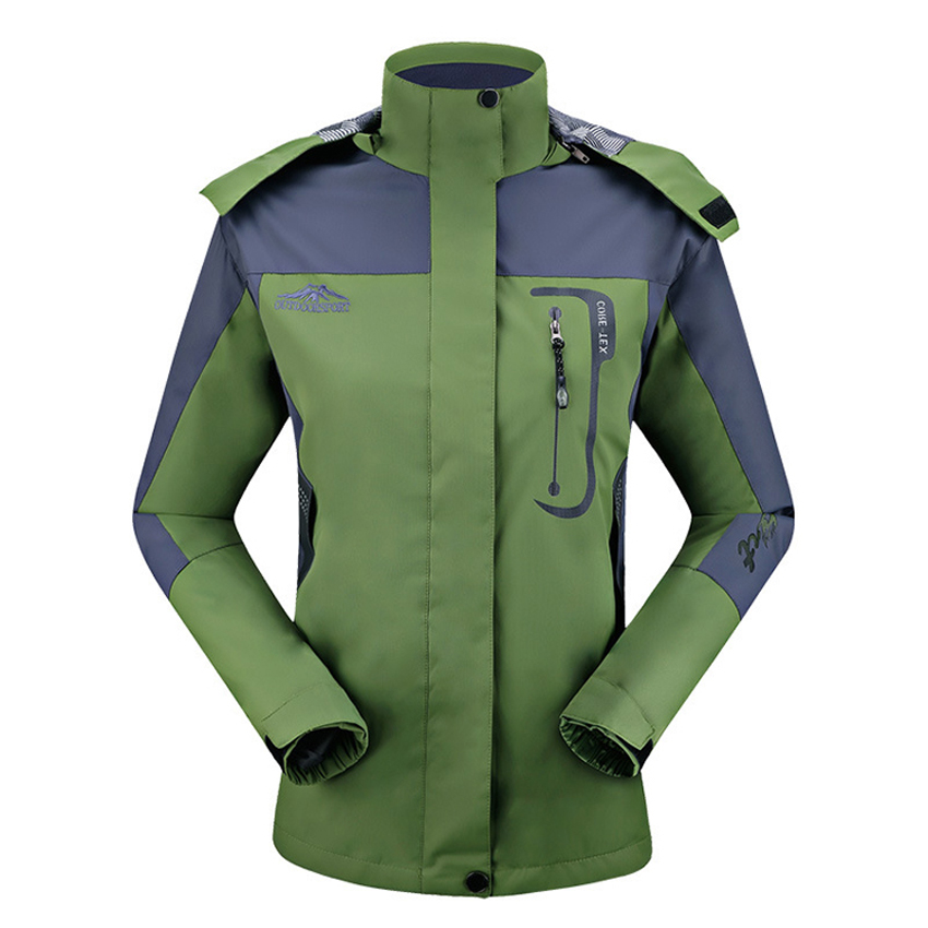 2017 Women Spring Breathable Jackets Outdoor Sports Windproof Waterproof Climbing Hiking Trekking Female Coats