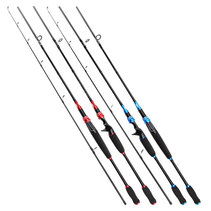 New M Power line wt.6-15lb lure wt.1/8-3/4oz Carbon Spinning Casting Lure Fishing Rod olta 1.8m 2 Segments fishing rod
