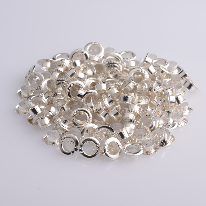 200pcs/lot Authentic 925 Silver Colour Beads Inner Ring Retaining Ring Fit Original  Bracelets Bangles DIY Jewelry