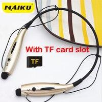 NAIKU Sport Bluetooth Earphone 730TF FM SD Card Slot Auriculares Bluetooth Headphones Microphone For iphone Huawei XiaoMi Phone