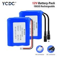 18650 Батарея 100% Новый оригинальный lifepo4 12V 3/6/9 * клетки пакет Перезаряжаемые литий-ионный аккумулятор DIY резервные батареи для Светодиодный св...