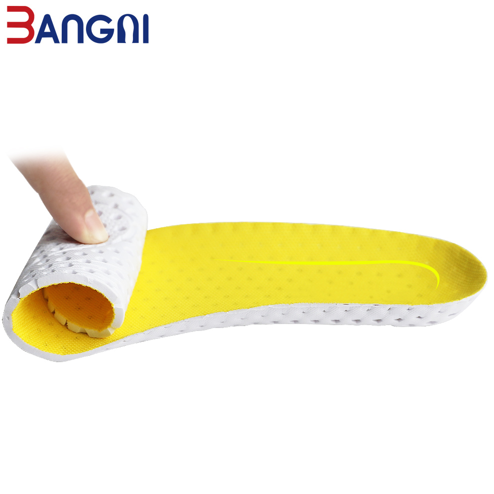 Image 4 - 3ANGNI Running  Light Comfortable Breathable Sport EVA Arch Support Free Size Insoles Accessories For Women Men Shoes-in Insoles from Shoes