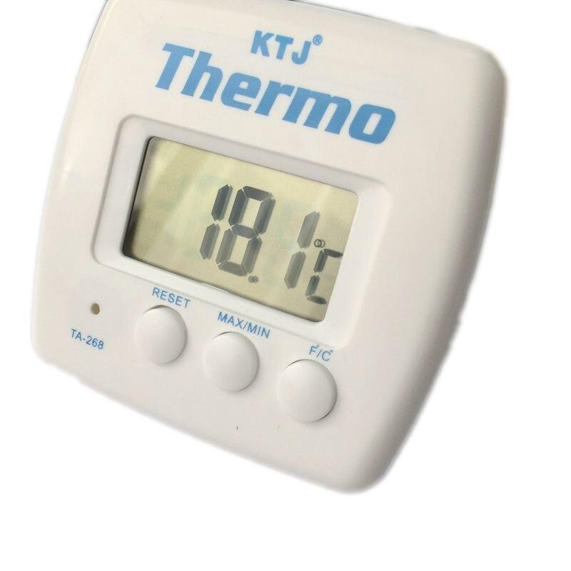lcd digital wireless indoor thermometer portable desk. Black Bedroom Furniture Sets. Home Design Ideas
