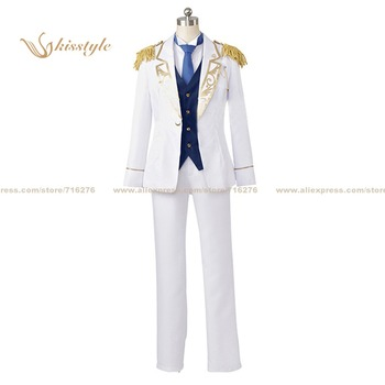 Kisstyle Fashion Ensemble Stars fine Hibiki Wataru Uniform COS Clothing Cosplay Costume,Customized Accepted