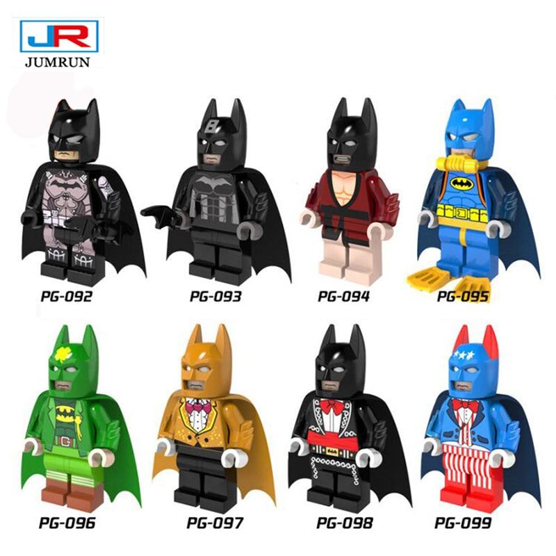 Jr batman single sale 2017 batman movie dc super heroes minifigures superhero legoes building block christmas