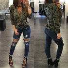 Women Camouflage Shi...