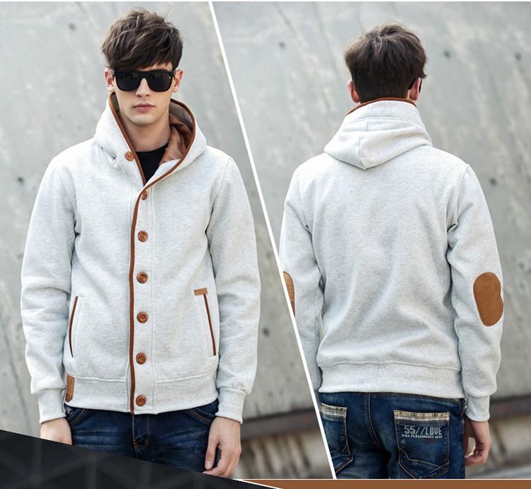 JeeToo Men Hoodies 17 Casual Hoodies Men Fleece Fashion Hip Hop Warm Hoody Polo Mens Hoody Jacket Sweatshirt Mens Sweat Homme 19