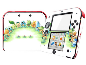 Image 5 - Pokemon Design Protector Vinyl Skin Sticker for 2DS  Cover Decal for Nintend 2DS