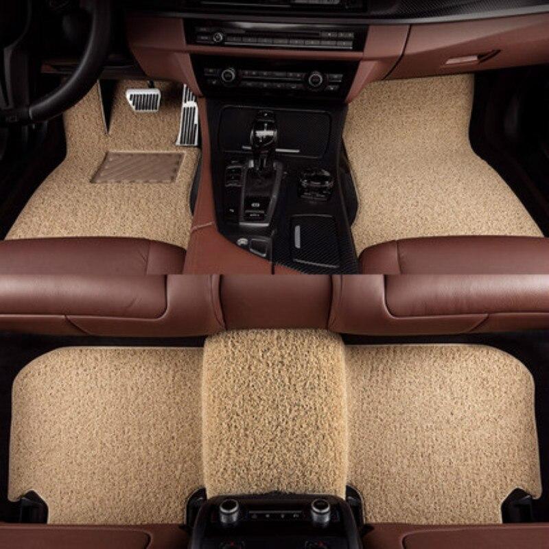Wire Loop Carpets Waterproof Durable Custom Car Floor Mats For Citroen Infiniti Renault Ford Jaguar Alfa Romeo Most Cars