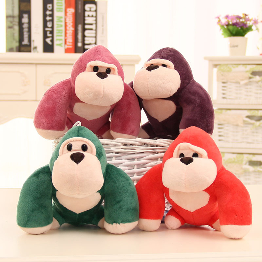 Mini Cute Baby Stuffed Orangutan Plush Toy Doll Stuffed Animal