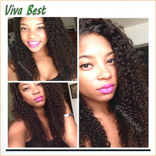 Unprocessed virgin brazilian lace front wigs glueless full lace wigs top quality 130% density deep curly lace wigs