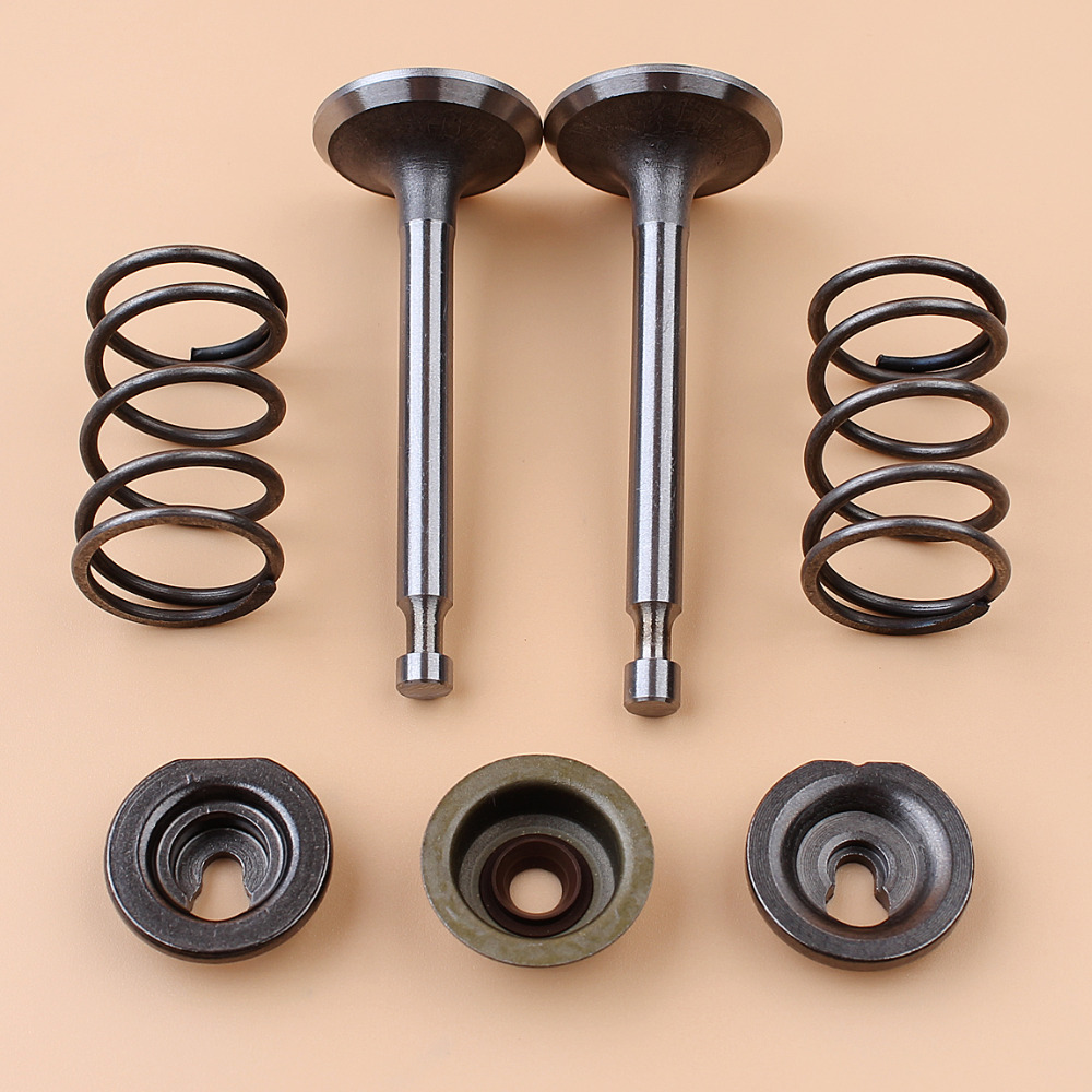 Intake Exhaust Valve Spring Stem Seal Kit For HONDA GX160 GX200 168F 5.5HP 6.5HP 2kw-3kw Gas Engine Motor Generator
