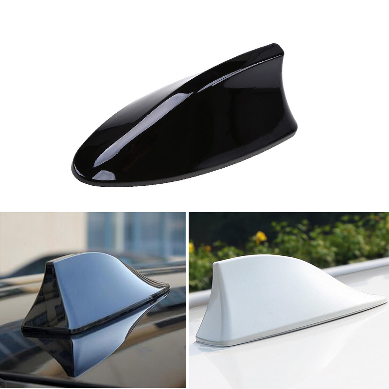 цена на 1x Car Shark fin antenna antena For Mitsubishi Asx Lancer 10 Outlander Pajero Sport 9 L200 Colt Carisma Galant Grandis