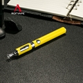 Portable Pipe Supply for e-cig Pen Style Vapor Kit K09 (Yellow)