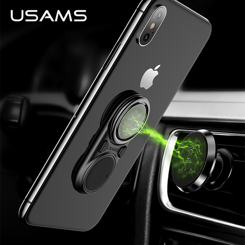 USAMS Mobile-Phone-Holder Absorbable Universal Metal for 360