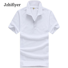 A Lot of Colors Available High Quality 10pcs /Lot Women Mens 100% Cotton Short Sleeve Polo T Shirts